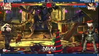 #NWM7 #GGXRD T16 GF - NeoGAF Ogawa Zato (ZAT) vs NeoGAF Dogura (SOL)