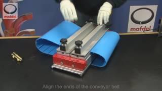 Welding of a positively driven conveyor belt DELDRIVE