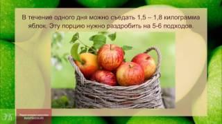 Яблочная диета  До МИНУС 10 кг