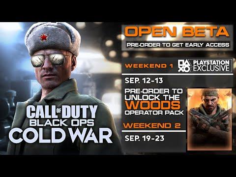 Huge Black Ops Cold War Gameplay Reveal Open Beta Pre Order Bonus Bundle Trailer Start Times Youtube