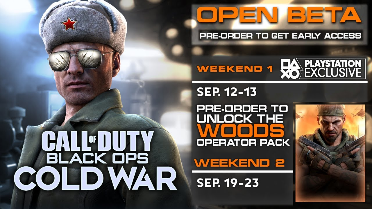 Huge Black Ops Cold War Gameplay Reveal Open Beta Pre Order Bonus Bundle Trailer Start Times Youtube