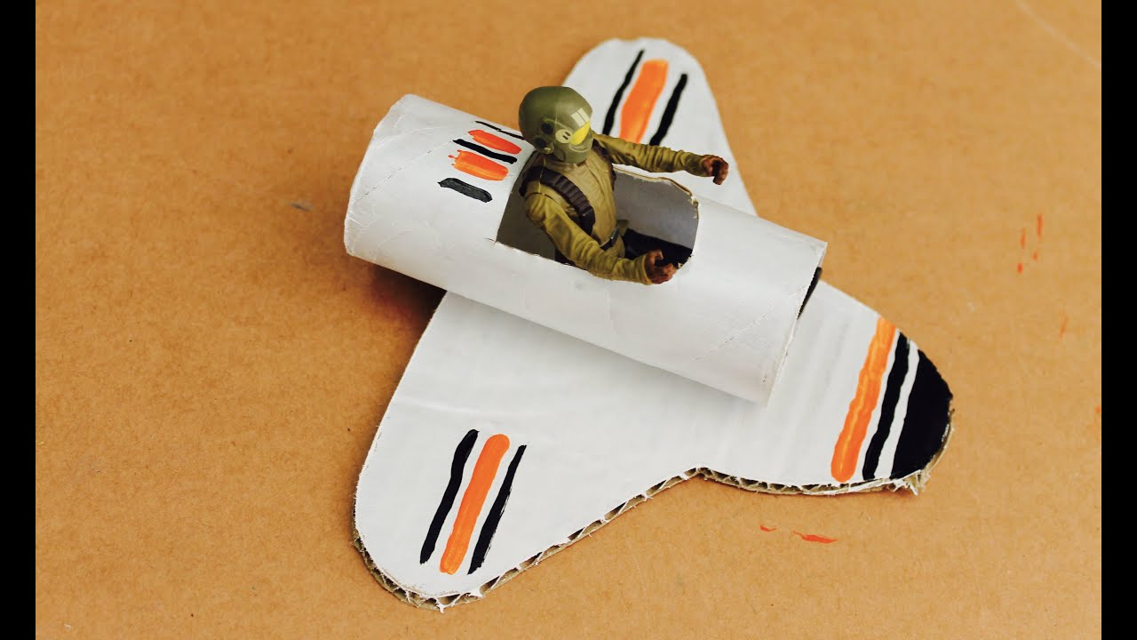 Easy Craft: How To Make A Toilet Roll Space Shuttle