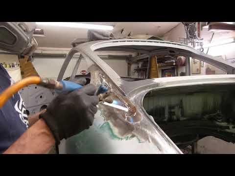 Verzinnen! Ganz einfach !? Am Testblech erklärt und am Porsche ausgeführt.Tinning restoration