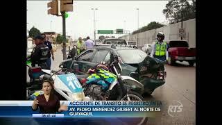 Baixar Accidente de tránsito en la Avenida Pedro Menéndez Gilbert