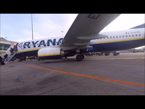 TRIP REPORT   Ryanair (Economy)   Liverpool - Dublin   Boeing 737-800