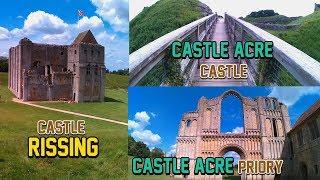Castle Rising Castle Castle Acre Castle Castle Acre Priory[castle adventures]