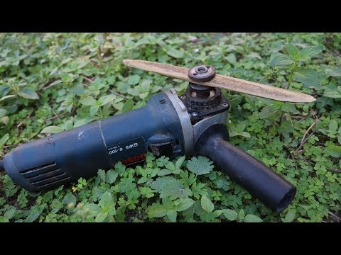 Image result for diy grass cutter angle grinder