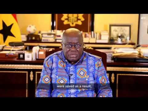 President Nana Akufo Addo's Christmas message to Ghanaians