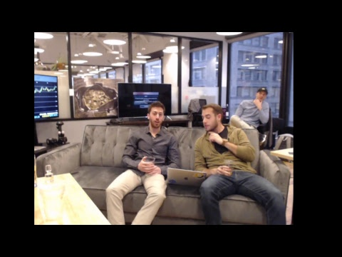 Whiskey Wednesday Week 1: Live From Bitcoin Bravado Office