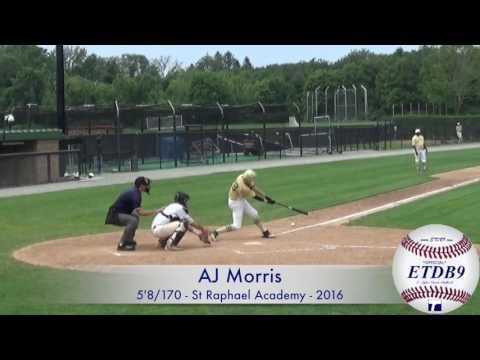 AJ Morris - St Raphael Academy - 2016 - At-Bats