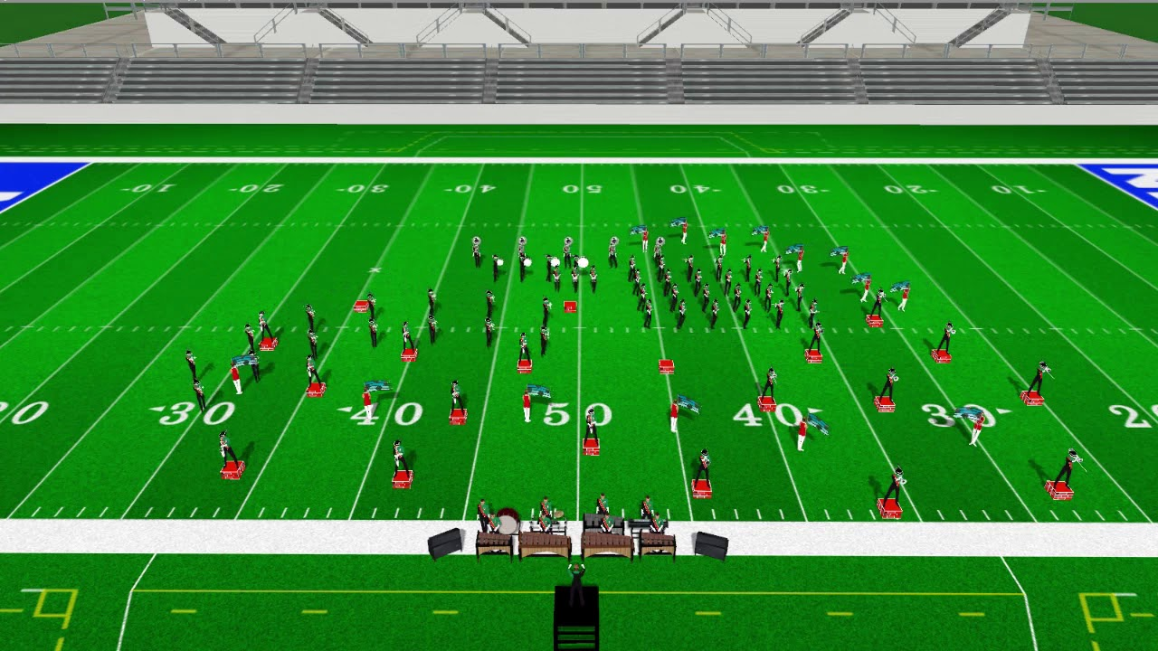"Medium Marching Band - ""Level Up"" (opener)"