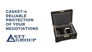 CASKET-4 – reliable protection of your negotiations
