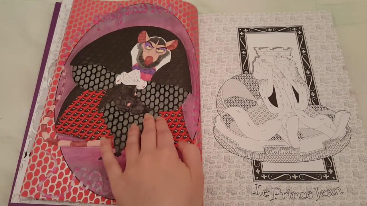 Art-Thérapie: Disney: Les Méchants: 17 coloriages ANTI-STRESS