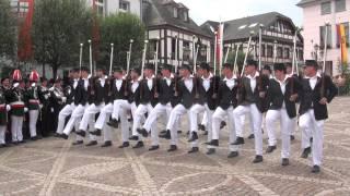 Parade der Junggesellen Fronleichnam 2014