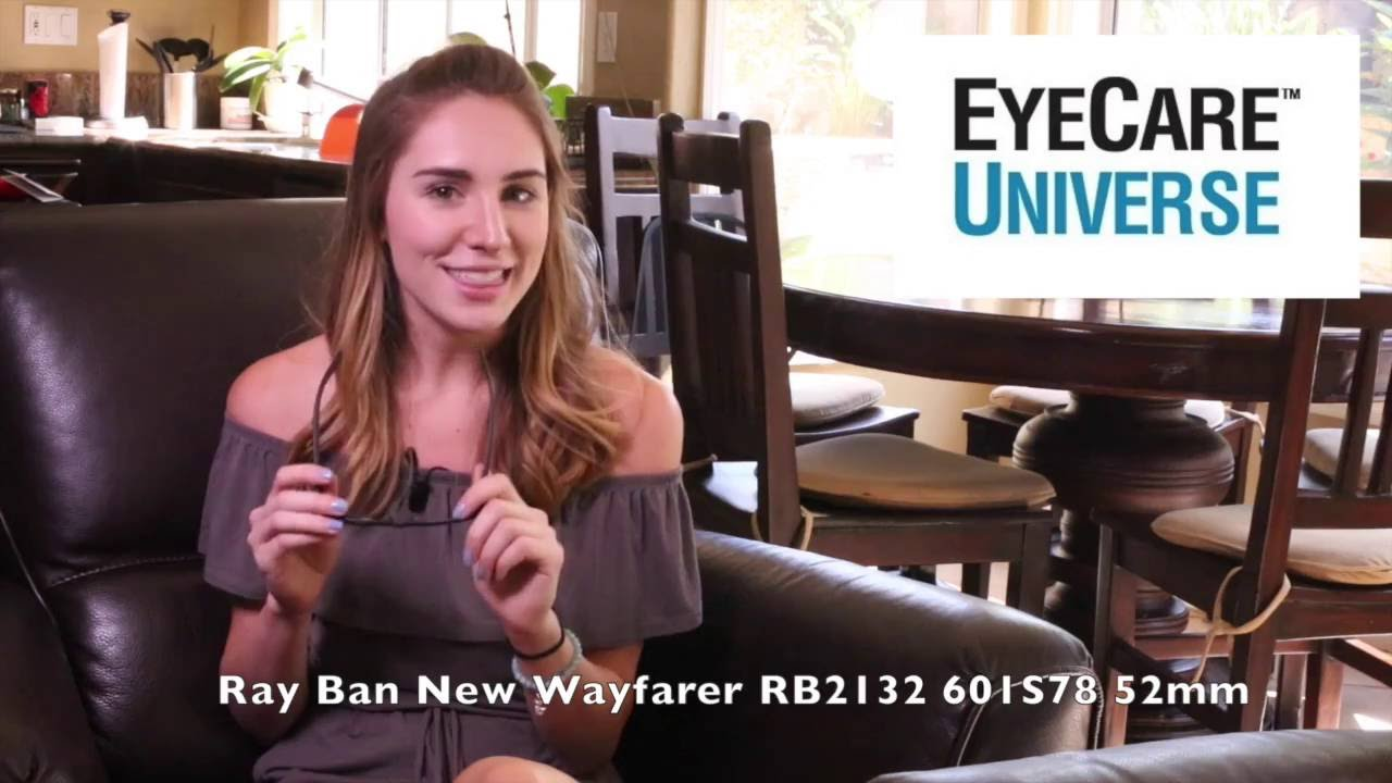 44ab001649c Ray Ban RB 2132 55mm 601S78 Video Review - YouTube