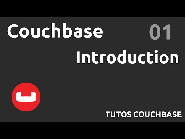 Introduction - #Couchbase 01