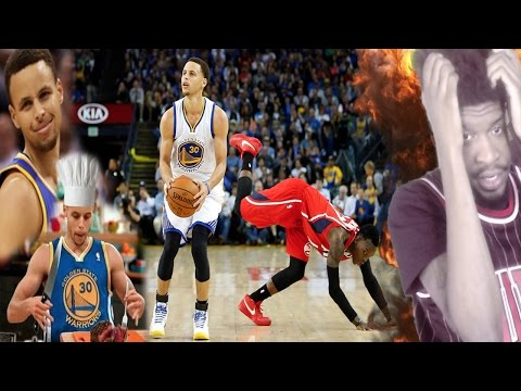 STEPHEN CURRY CAREER CROSSOVER & HANDLES...