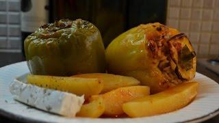 #Фаршированные_Овощи_В_Духовке #Греческая кухня