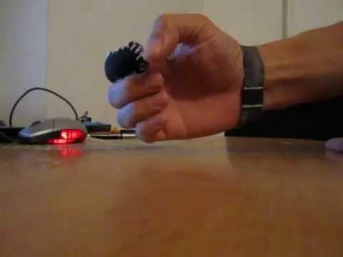 самодельный напальчник | Single Finger Casting Glove - YouTube