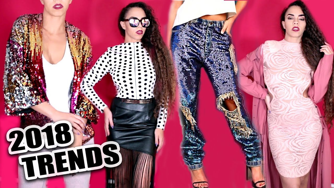 2018 Fashion Trends 15 Style Tips Trends Tops Dresses Shoes Coats Top Fashion Trends