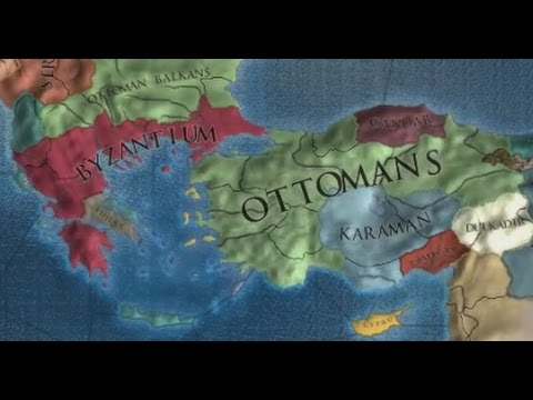 EU IV 1.19 - How to start as Byzantium (Very Hard, Uncommented)