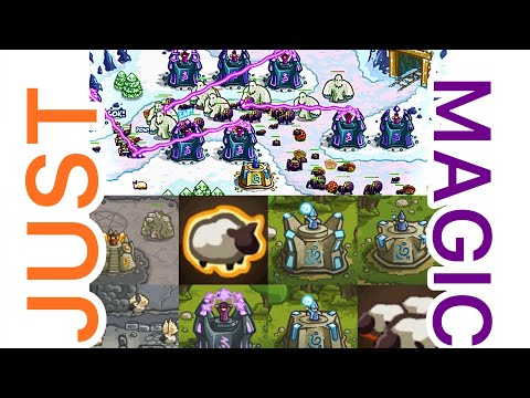 Can You Beat Kingdom Rush (On Veteran) With Just Magic? |