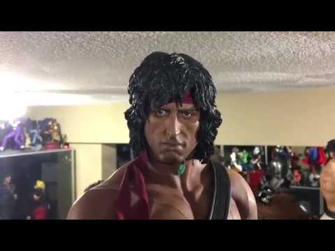 Rambo II 1:3 Scale Collectible Statue from Pop Culture Shock Collectibles