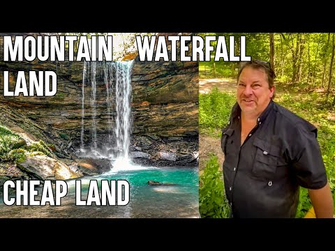 Mountain property with Waterfalls, Cheap land in Kentucky for sale