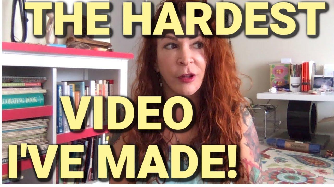 VIDEO: The Hardest Video I've Ever Shared