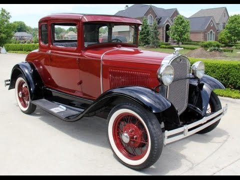 1931 ford model a 5 window coupe for sale youtube. Black Bedroom Furniture Sets. Home Design Ideas