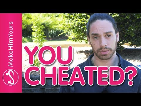 How to make it up to your boyfriend after cheating