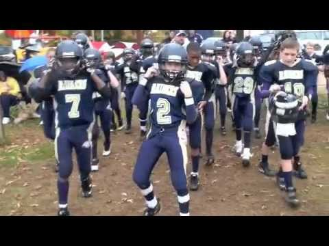 Kernersville Raiders Greatest Plays, Pop Warner Superbowl Football in Disney WITH MUSIC