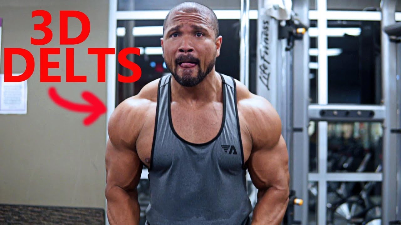 3D SHOULDER WORKOUT- VOLUME 2 - YouTube