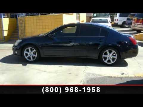 2005 Nissan Maxima - Used Hondas USA - Bellflower, CA 90706