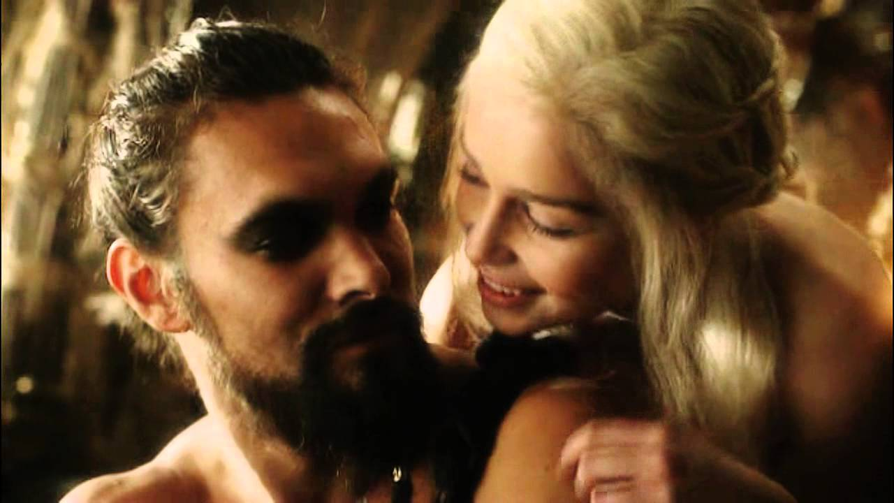 game of thrones daenerys and drogo sex