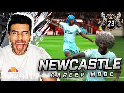 FUTURE FOOTBALL LEGENDS ON DISPLAY?! - FIFA 19 NEWCASTLE CAREER MODE #23