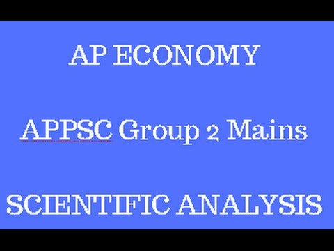 APPSC Group 2 Mains | AP Economy Strategy | Scientific Analysis | Latest Budget and Economic Survey