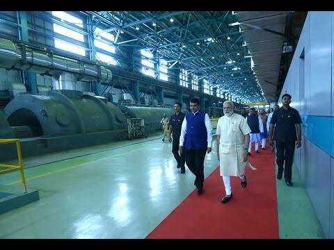 PM Narendra Modi Inaugrates Koradi Thermal Power Station in Nagpur, Maharashtra