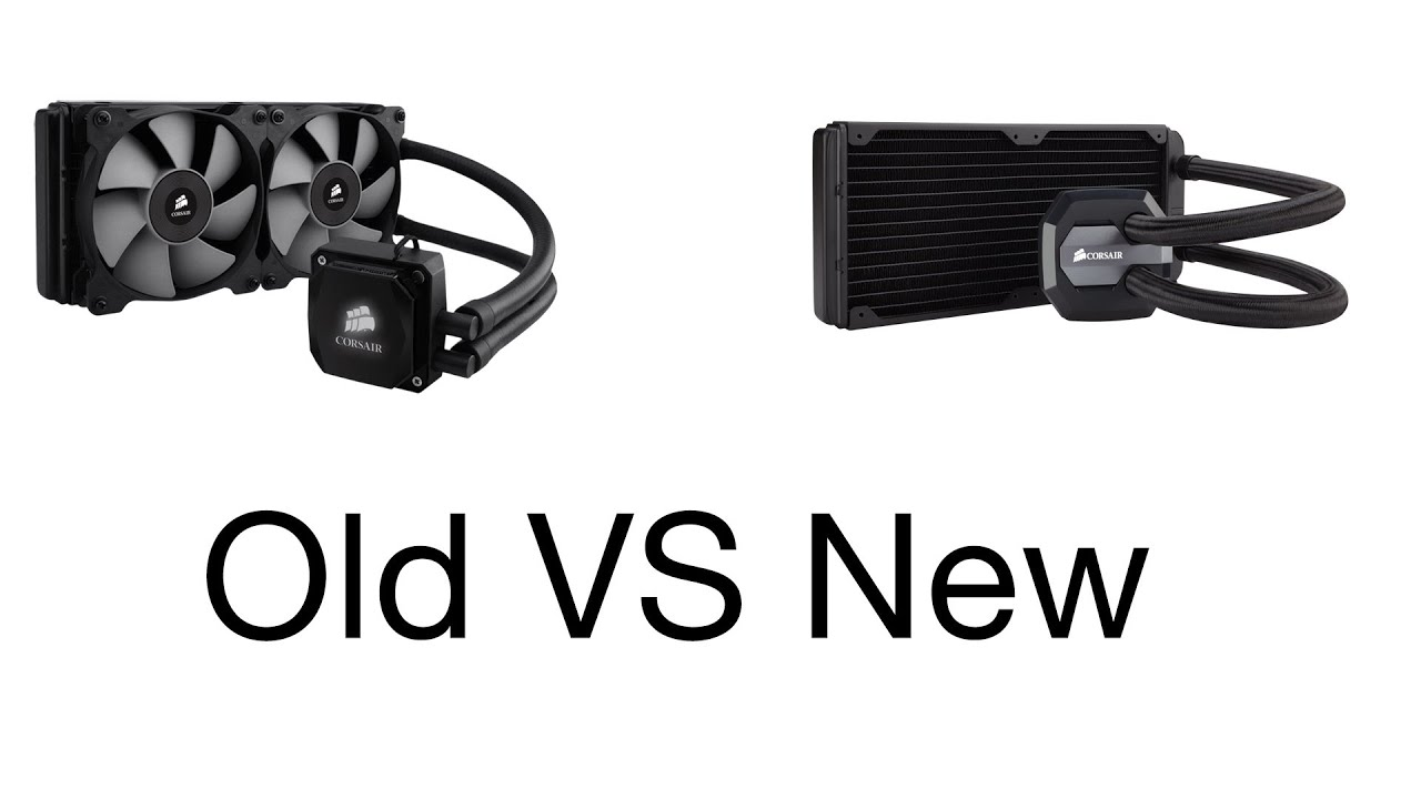 H100i vs H100i GTX - YouTube