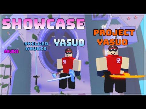 Hướng Dẫn Cách Lấy Project Yasuo Và SHowcase | A Universal Time