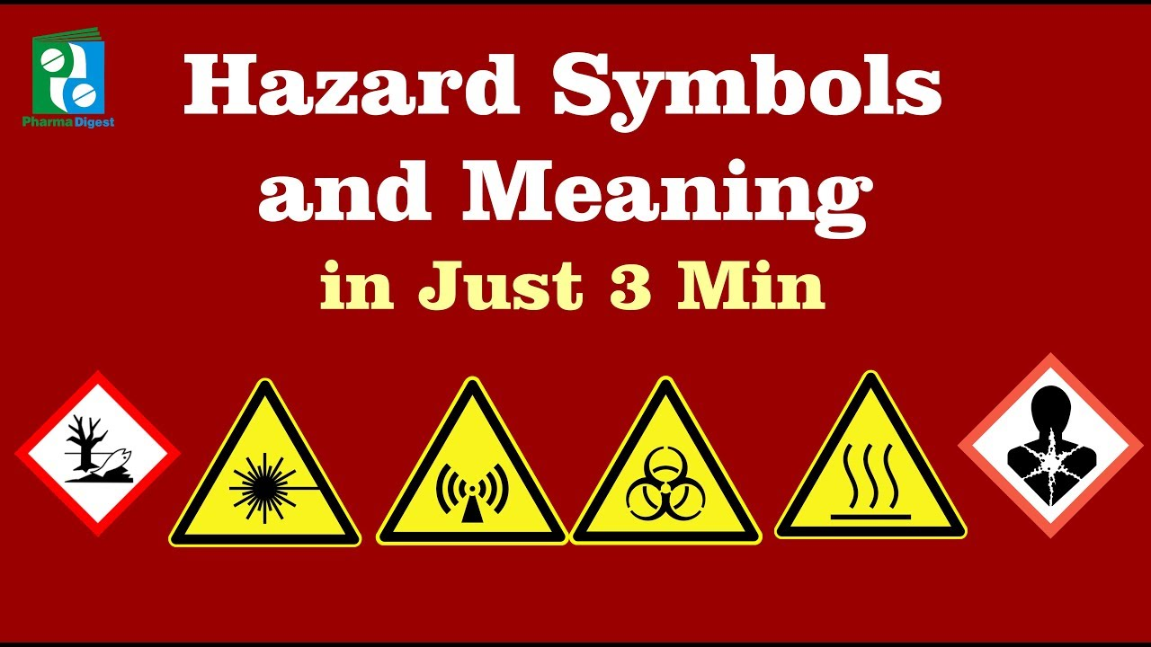 Hazard Symbols And Meaning In Just 3 Minutes Youtube