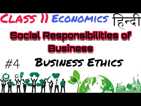 (hindi) Business ethics and environment protection in hindi.