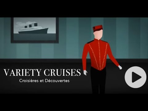 "Variety Cruises'  Variety Voyager - Documentary by Alain Dayan for ""Croisières et Découvertes"""