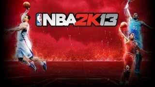 NBA 2K13 - James Harden Self Alley-Oop Dunk In Houston Rockets Practice