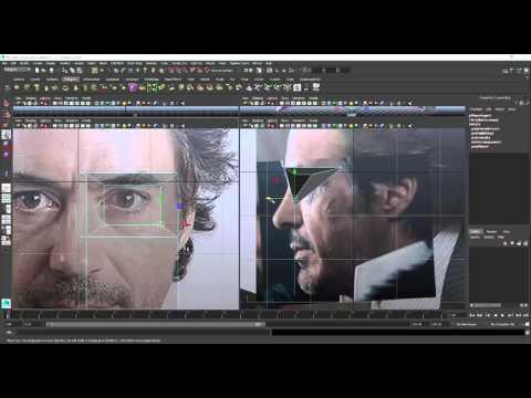 Modelado de rostro (Robert Downey Jr.)