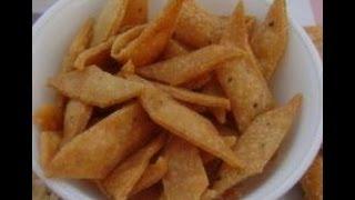 Namak Pare Recipe - inHouseRecipes