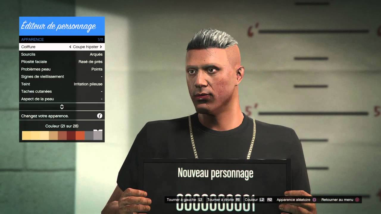 coiffure hipster gta 5 coiffures la mode de la saison 2017 blog photo. Black Bedroom Furniture Sets. Home Design Ideas