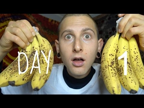 Banana Island Day#1🍌😳1 Week of Eating 30 bananas a day