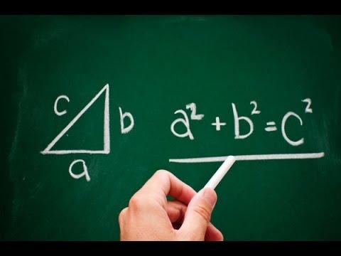 Как посчитать гипотенузу треугольника с прямым углом