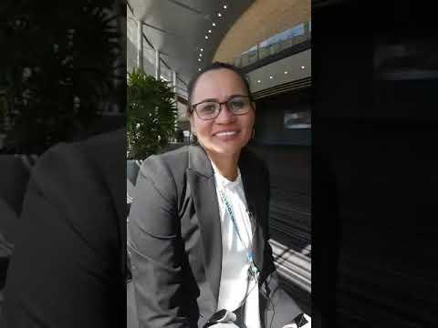 Dr Kiarna Brown at #RANZCOG18